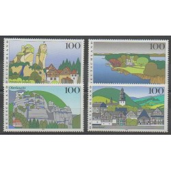Allemagne - 1995 - No 1639/1642 - Sites