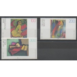 Germany - 1996 - Nb 1675/1677 - Paintings