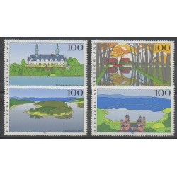 Germany - 1996 - Nb 1682/1685 - Monuments