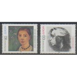 Allemagne - 1996 - No 1686/1687 - Célébrités - Europa