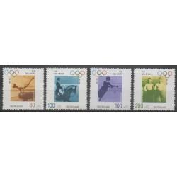 Allemagne - 1996 - No 1693/1696 - Jeux Olympiques d'été