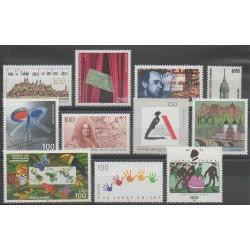 Allemagne - 1996 - No 1688/1692 - 1697/1702