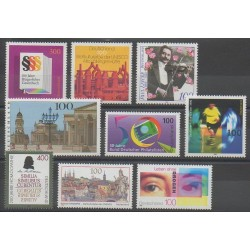 Germany - 1996 - Nb 1706/1714