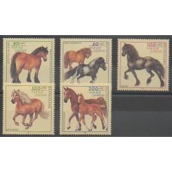 Germany - 1997 - Nb 1752/1756 - Horses