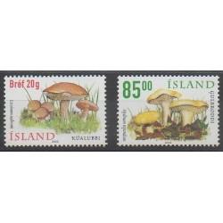 Islande - 2002 - No 928/929 - Champignons