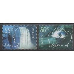 Islande - 2001 - No 914/915 - Europa