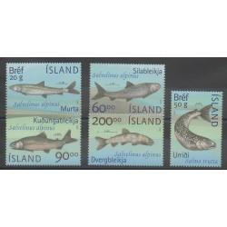 Islande - 2002 - No 940/944 - Animaux marins