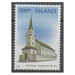 Islande - 2003 - No 961 - Églises