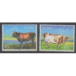 Islande - 2003 - No 958/959 - Mammifères