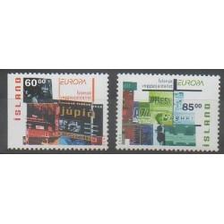 Iceland - 2003 - Nb 966a/967 - Art - Europa
