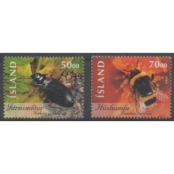 Islande - 2004 - No 1003/1004 - Insectes