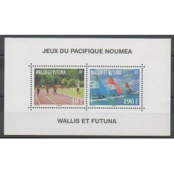Wallis et Futuna - Blocs et feuillets - 2011 - No BF26 - Sports divers