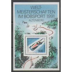 Allemagne - 1991 - No BF22 - Sports divers
