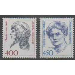 Germany - 1992 - Nb 1414 - 1442 - Celebrities