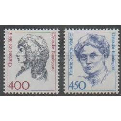 Allemagne - 1992 - No 1414 - 1442 - Célébrités