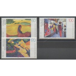 Germany - 1992 - Nb 1445/1447 - Paintings