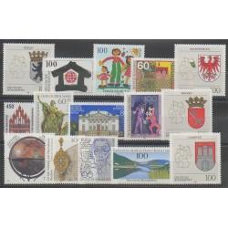 Germany - 1992 - Nb 1448/1462