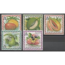 Montserrat - 1999 - No 1006/1010 - Fruits