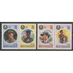 Montserrat - 1998 - No 986/989 - Scoutisme