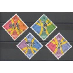 Montserrat - 1996 - No 878/881 - Jeux Olympiques d'été