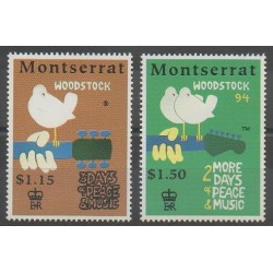 Montserrat - 1994 - No 838/839 - Musique