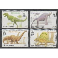 Montserrat - 1992 - No 780/783 - Animaux préhistoriques