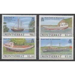 Montserrat - 1989 - Nb 709/712 - Boats