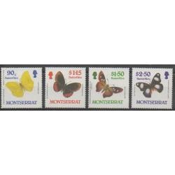 Montserrat - 1987 - No 653/656 - Insectes