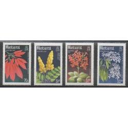 Montserrat - 1986 - No 640/643 - Fleurs
