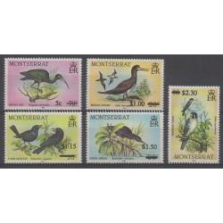 Montserrat - 1987 - No 644/648 - Oiseaux