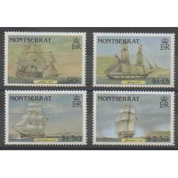 Montserrat - 1986 - Nb 624/627 - Boats
