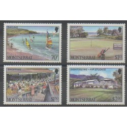 Montserrat - 1986 - No 636/639 - Tourisme