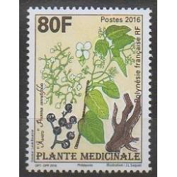 Polynésie - 2016 - No 1128 - Fleurs