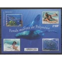 Polynesia - 2017 - Nb BF46 - Sea animals