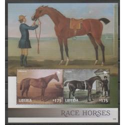Liberia - 2014 - Nb BF670 - Horses