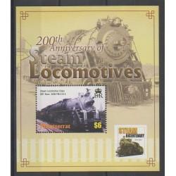 Montserrat - 2004 - No BF98 - Chemins de fer