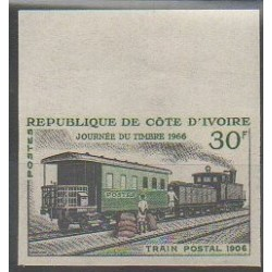 Ivory Coast - 1966 - Nb 243ND - Trains