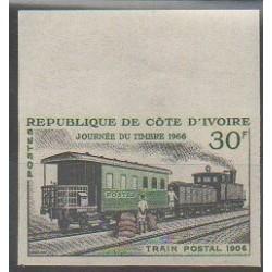 Côte d'Ivoire - 1966 - No 243ND - Chemins de fer
