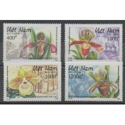 Vietnam - 1993 - Nb 1399/1402 - Orchids