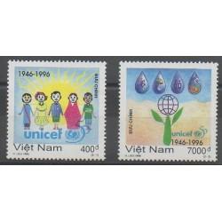 Vietnam - 1996 - No 1629/1630 - Enfance