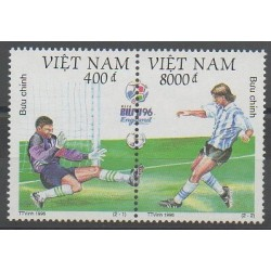 Vietnam - 1996 - Nb 1642/1643 - Football