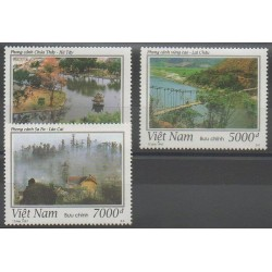 Vietnam - 1997 - Nb 1683/1685 - Sights - Bridges