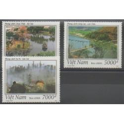Vietnam - 1997 - No 1683/1685 - Sites - Ponts
