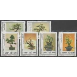 Vietnam - 1998 - No 1745/1750 - Arbres
