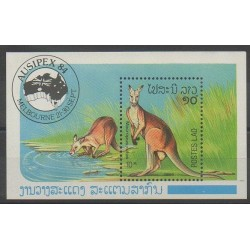 Laos - 1984 - No BF83 - Mammifères