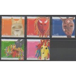 Portugal - 2005 - No 2862/2866 - Masques ou carnaval