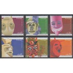Portugal - 2006 - No 3045/3050 - Masques ou carnaval