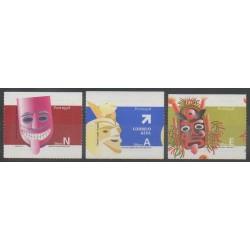 Portugal - 2006 - No 3012/3014 - Masques ou carnaval