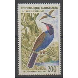 Gabon - 1963 - No PA15 - Oiseaux