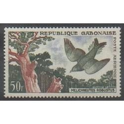 Gabon - 1961 - No PA4 - Oiseaux